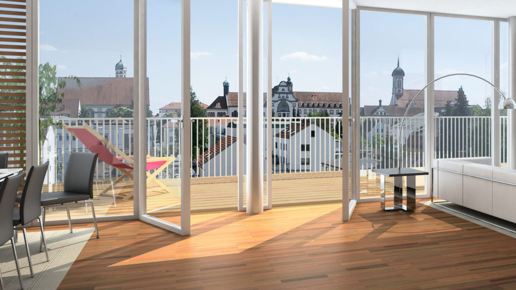 Immobilie Innenraum nach Immobilienclearing