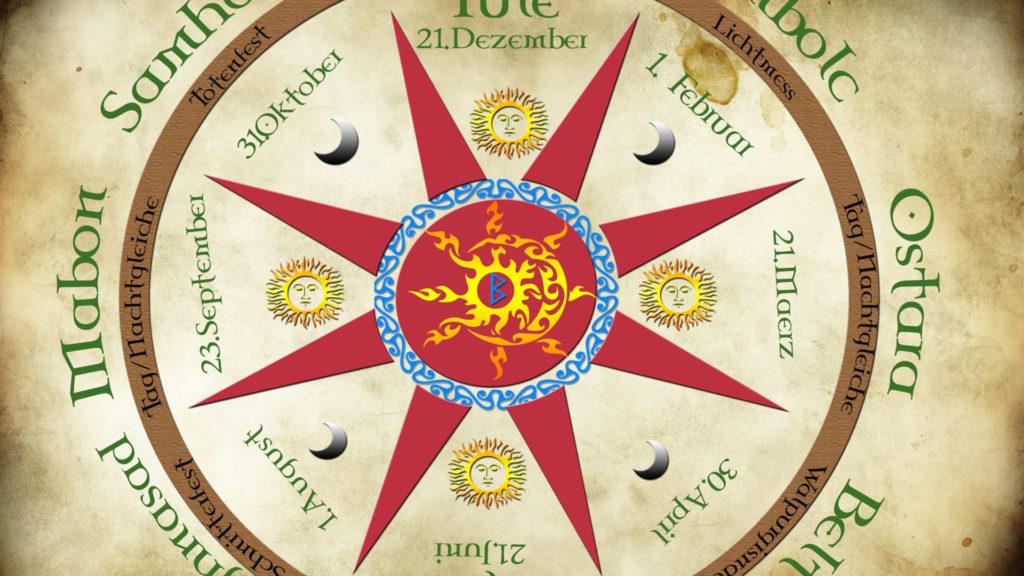 Begleitung durch den keltischen Jahreskreis, durch die Jahreskreisfeste durch Schamane Gerhard Zirkel
